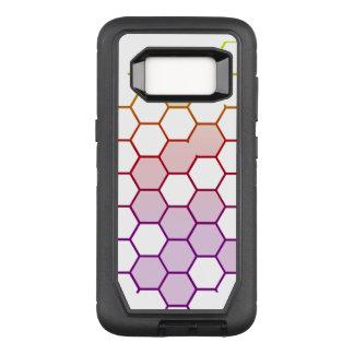 Capa OtterBox Defender Para Samsung Galaxy S8 Hex da cor no branco