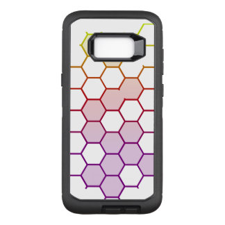Capa OtterBox Defender Para Samsung Galaxy S8+ Hex da cor no branco