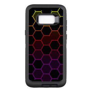 Capa OtterBox Defender Para Samsung Galaxy S8+ Hex da cor no preto