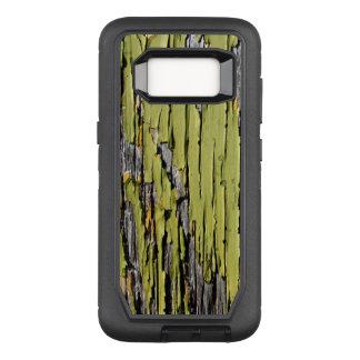 Capa OtterBox Defender Para Samsung Galaxy S8 Madeira verde resistida do celeiro