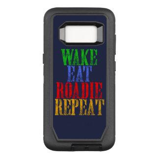 Capa OtterBox Defender Para Samsung Galaxy S8 O acordar come a repetição de ROADIE