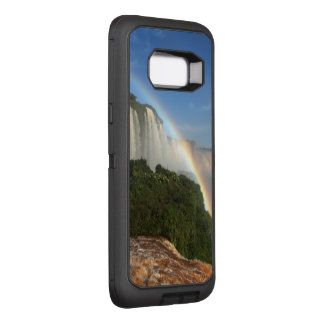 Capa OtterBox Defender Para Samsung Galaxy S8+ O arco-íris da cachoeira personaliza destinos do
