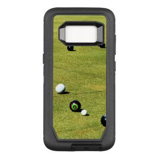 Capa OtterBox Defender Para Samsung Galaxy S8 O gramado rola ação,