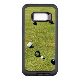 Capa OtterBox Defender Para Samsung Galaxy S8+ O gramado rola ação,