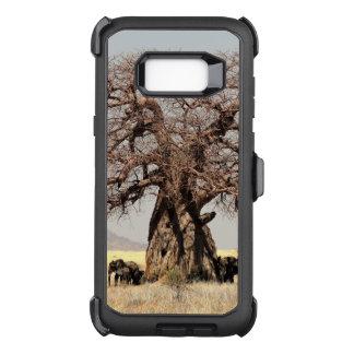 Capa OtterBox Defender Para Samsung Galaxy S8+ O ramo de árvore do Baobab personaliza destinos do