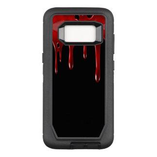 Capa OtterBox Defender Para Samsung Galaxy S8 O sangue de Falln goteja o preto