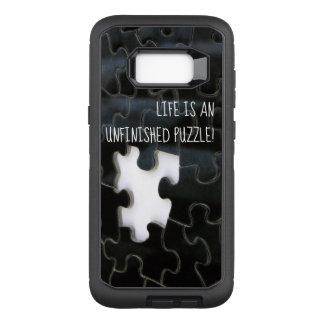 Capa OtterBox Defender Para Samsung Galaxy S8+ Os desaparecidos preto e branco confundem a