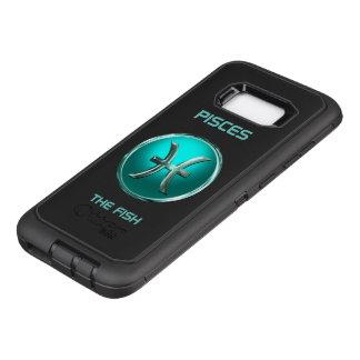 Capa OtterBox Defender Para Samsung Galaxy S8+ Peixes - o sinal do horóscopo dos peixes