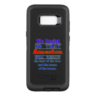 Capa OtterBox Defender Para Samsung Galaxy S8+ Porque nós resistimos. Para Amerca