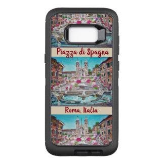 Capa OtterBox Defender Para Samsung Galaxy S8+ Praça di Spagna, galáxia S8 de OtterBox Samsung