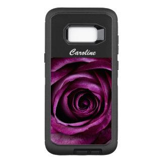 Capa OtterBox Defender Para Samsung Galaxy S8+ Rosa do roxo da capa de telefone de Samsung 8