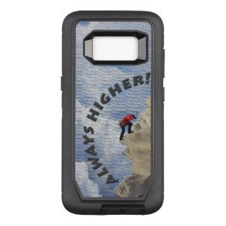 Capa OtterBox Defender Para Samsung Galaxy S8 Sempre mais alto! Design das cinzas