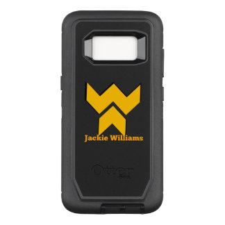 Capa OtterBox Defender Para Samsung Galaxy S8 Série Jackie Williams do defensor da galáxia S8 de