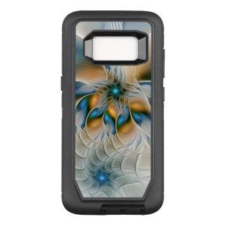 Capa OtterBox Defender Para Samsung Galaxy S8 Subindo, abstraia a arte do Fractal da fantasia
