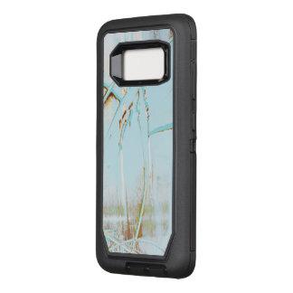 Capa OtterBox Defender Para Samsung Galaxy S8 Superfície e design azuis originais da arte