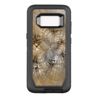 Capa OtterBox Defender Para Samsung Galaxy S8 Textura moderna da arte do Fractal do abstrato dos