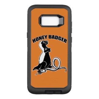Capa OtterBox Defender Para Samsung Galaxy S8+ Texugo de mel