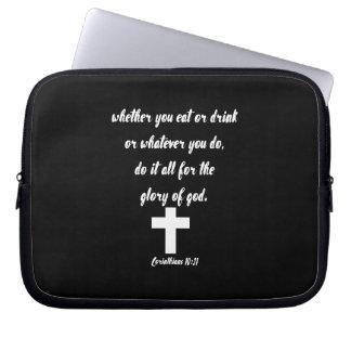 Capa Para Computador 10:31 dos Corinthians