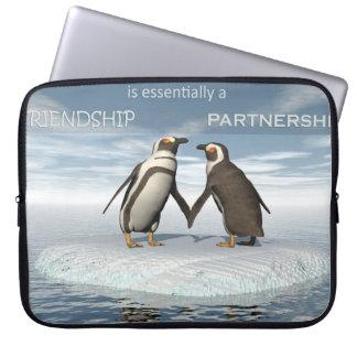Capa Para Computador A amizade é essentailly uma parceria