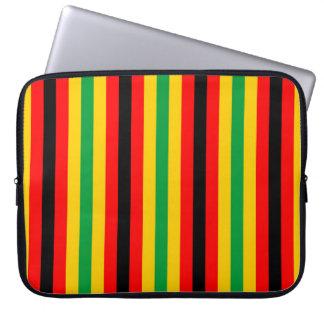 Capa Para Computador A bandeira de Zimbabwe listra linhas cores do país