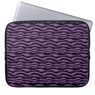 Capa Para Computador A bolsa de laptop animal do impressão da zebra