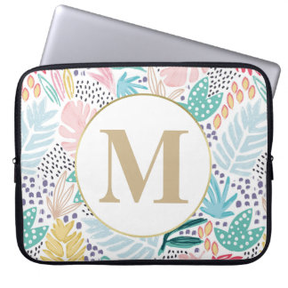 Capa Para Computador A bolsa de laptop colorida do teste padrão da