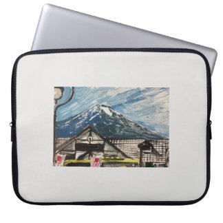 Capa Para Computador A bolsa de laptop do computador de Monte Fuji