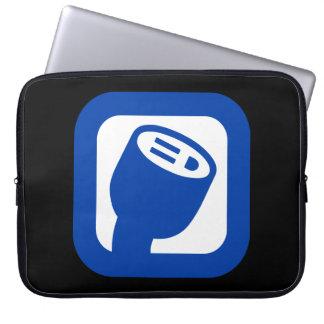 Capa Para Computador A bolsa de laptop do logotipo de PlugShare