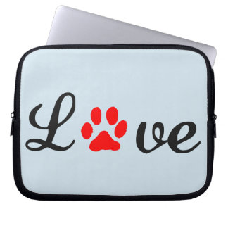 Capa Para Computador A bolsa de laptop do neopreno animais de estimação