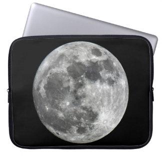 Capa Para Computador A bolsa de laptop do neopreno da lua de Supermoon