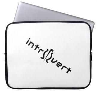 Capa Para Computador A bolsa de laptop introvertida do neopreno 15