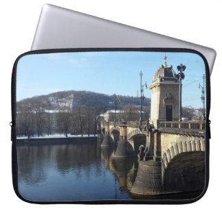 Capa Para Computador A ponte da legião, a bolsa de laptop de Praga