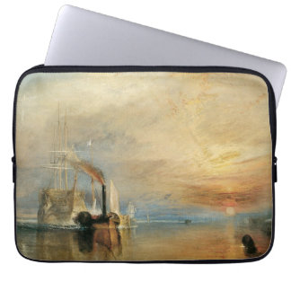 Capa Para Computador Arte marítima do vintage, Temeraire de combate por