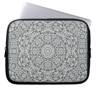 Capa Para Computador As bolsas de laptop brancas do neopreno    do