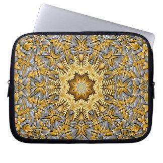 Capa Para Computador As bolsas de laptop do neopreno do metal precioso