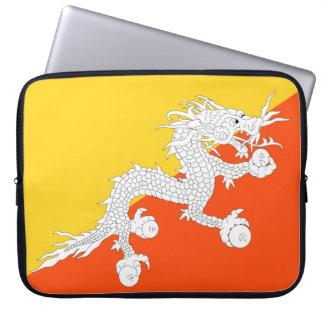 Capa Para Computador Bandeira nacional do mundo de Bhutan
