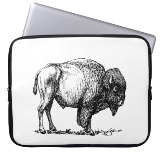 Capa Para Computador Bisonte americano do búfalo