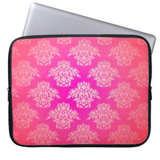 Capa Para Computador Bohemian elegante da cor damasco cor-de-rosa
