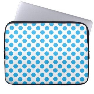 Capa Para Computador Bolinhas azuis