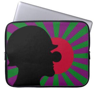 Capa Para Computador Caixa do laptop da bandeira de Sun de ascensão de