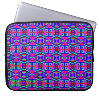 Capa Para Computador Caos colorido 42