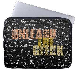 Capa Para Computador Desencadeie a caixa do laptop do geek