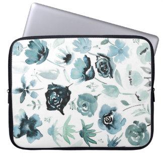 Capa Para Computador Design floral do Watercolour