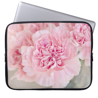 Capa Para Computador Flor macia do rosa do pó