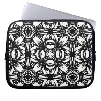 Capa Para Computador Gráfico preto & branco