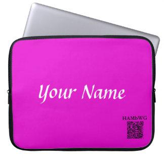 Capa Para Computador HAMbWG - caixa do laptop do neopreno - violeta