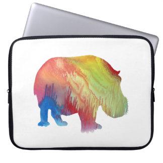 Capa Para Computador Hippopotamus