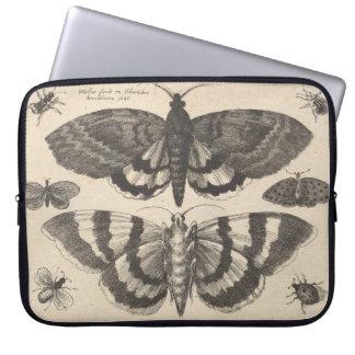 Capa Para Computador Lepidoptera da traça do vintage