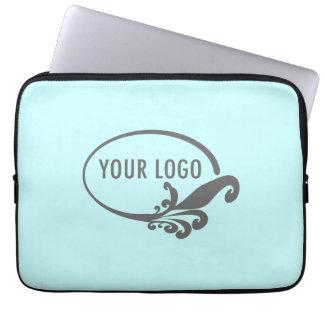 Capa Para Computador Logotipo feito sob encomenda do negócio do saco da