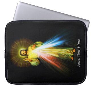 Capa Para Computador Luva divina do computador do compaixão de Jesus